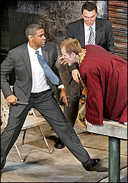 Denzel Washington in Julius Caesar